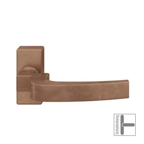 Verkröpfter FH- Rahmentürdrücker FSB 06 1163 Bronze