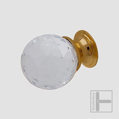 Möbelknopf Kristallglas 31.56.506