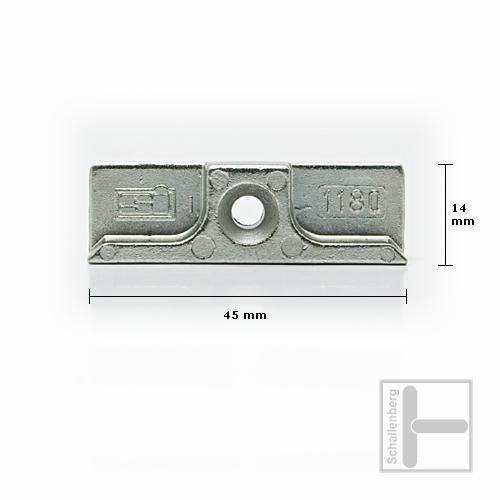 Schließblech Siegenia SI 1180-1