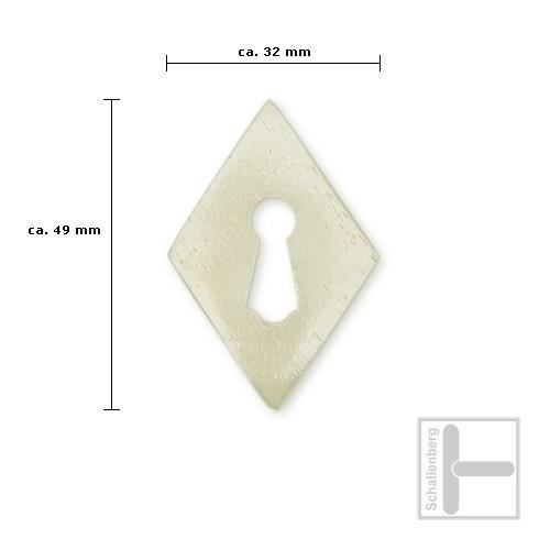 Schlüsselschild Tierknochen 35.159.075