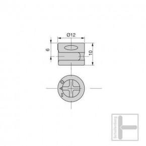 Bolzenschnecke Ø 12 mm