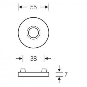 Türdrücker-Garnitur FSB-1023 | Aluminium Buntbart