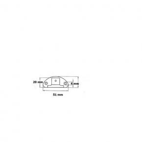 Einlass-Aufschraub Möbelband - G2